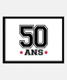 50 ans,anniversaire