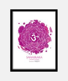 7º CHAKRA  Sahasrara (blanco)