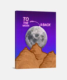 à la lune and back