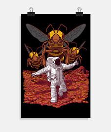 abeilles tueuses sur Mars