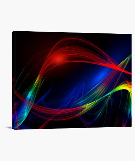 Lienzo Abstracto de colores