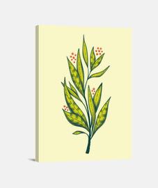abstracto verde planta amante de la nat