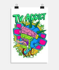 accro à la télévision