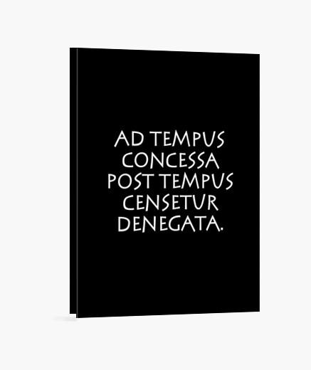 ad tempus concessa post tempus censetur