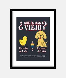 Adivinanza pollo y perro
