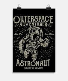 Adventurer Astronaut