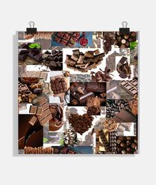 affiche au chocolat 057a 2019 chocolat