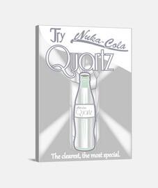 affiche de quartz nukacola - toile -