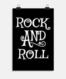 affiche de rock and roll rock vintage rockabilly rockers rétro