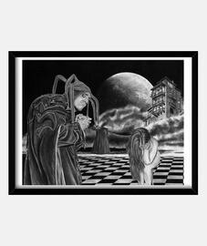 agorafobia - opera di esperienze extracorporee dell'artista gonzalo