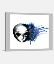 Alien watercolor