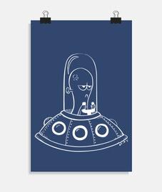 alieno - poster verticale