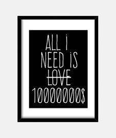 all i besoin est de 10 millions de dollars