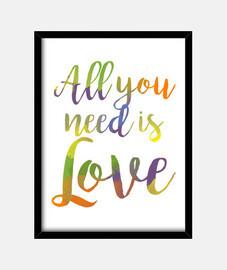 all vous avez besoin est amour