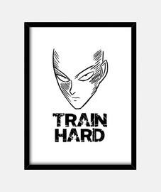 allenarsi duramente