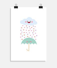 ama la pioggia
