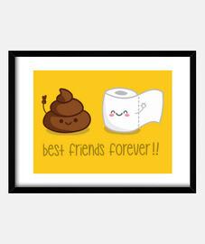 amis pour toujours!