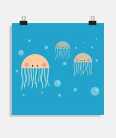 amitié de méduse