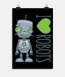 amo los robots