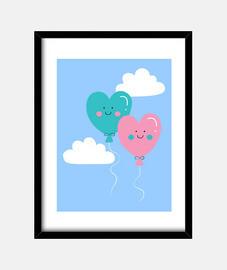 amore palloncini