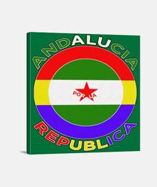 Andalucia por la Republica borde negro