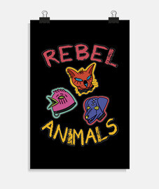 animaux rebelles