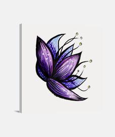 aquarelle d39encre fleur abstraite dood
