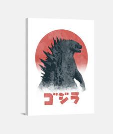 aquarelle Kaiju