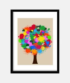Arbol de colores