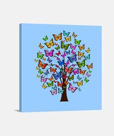 Arbol de mariposas