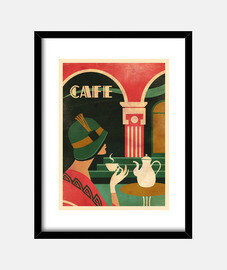 art déco cafe