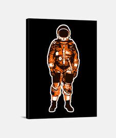 Astronauta naranja