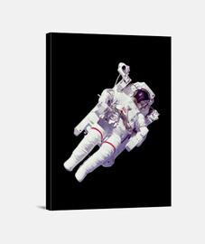 Astronauta paseo espacial