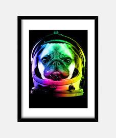 astronaute pug