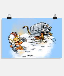 attaque des déambulateurs de neige