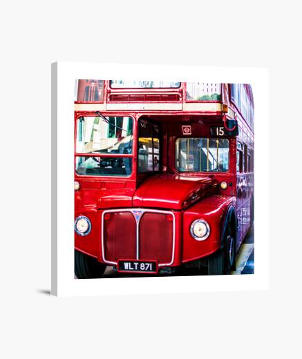 Lienzo Autobús Londres