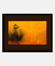 Autumn tower
