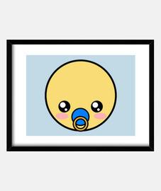 Baby Emoticón Niño