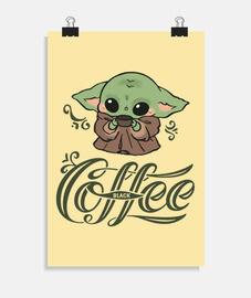 Baby Yoda coffe