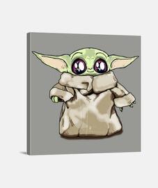 Baby Yoda. The Kid. Mandalorian.