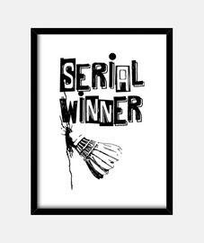 badminton série gagnant