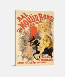 Baile en el Moulin Rouge, Jules Chéret