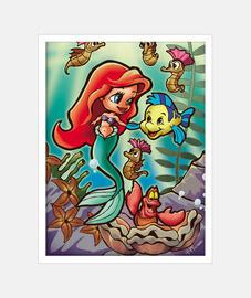 Bajo el mar poster