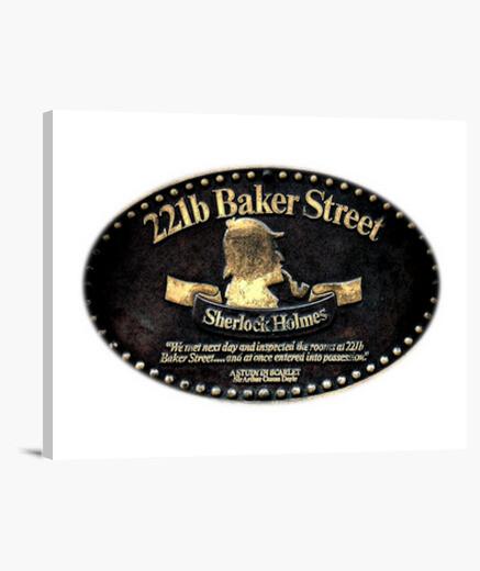 Lienzo Baker Street Conmemorativo