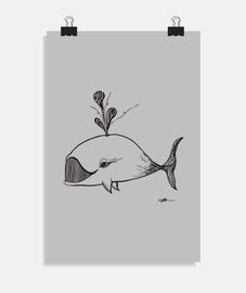 ballena - cartel