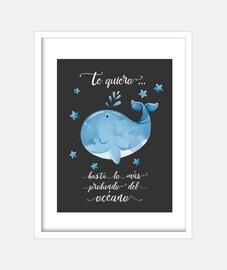 ballena azul. Te quiero más allá de...