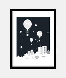 ballloons et la ville