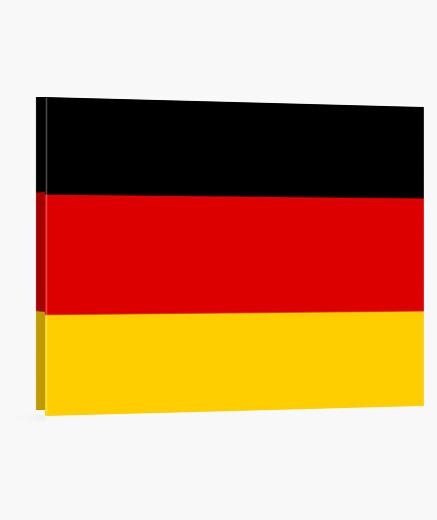 Lienzo Bandera de Alemania