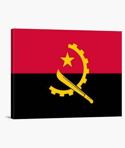 Lienzo Bandera de Angola