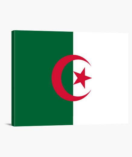 Lienzo Bandera de Argelia